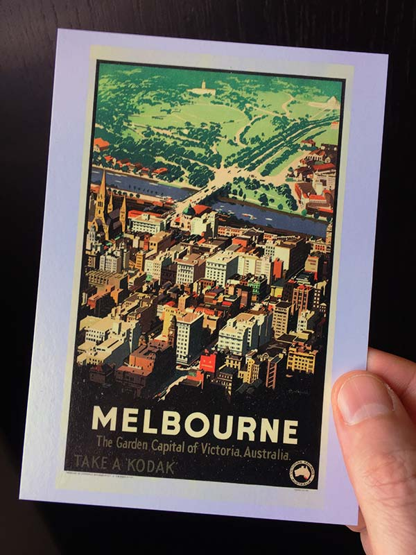 Postcard mailing