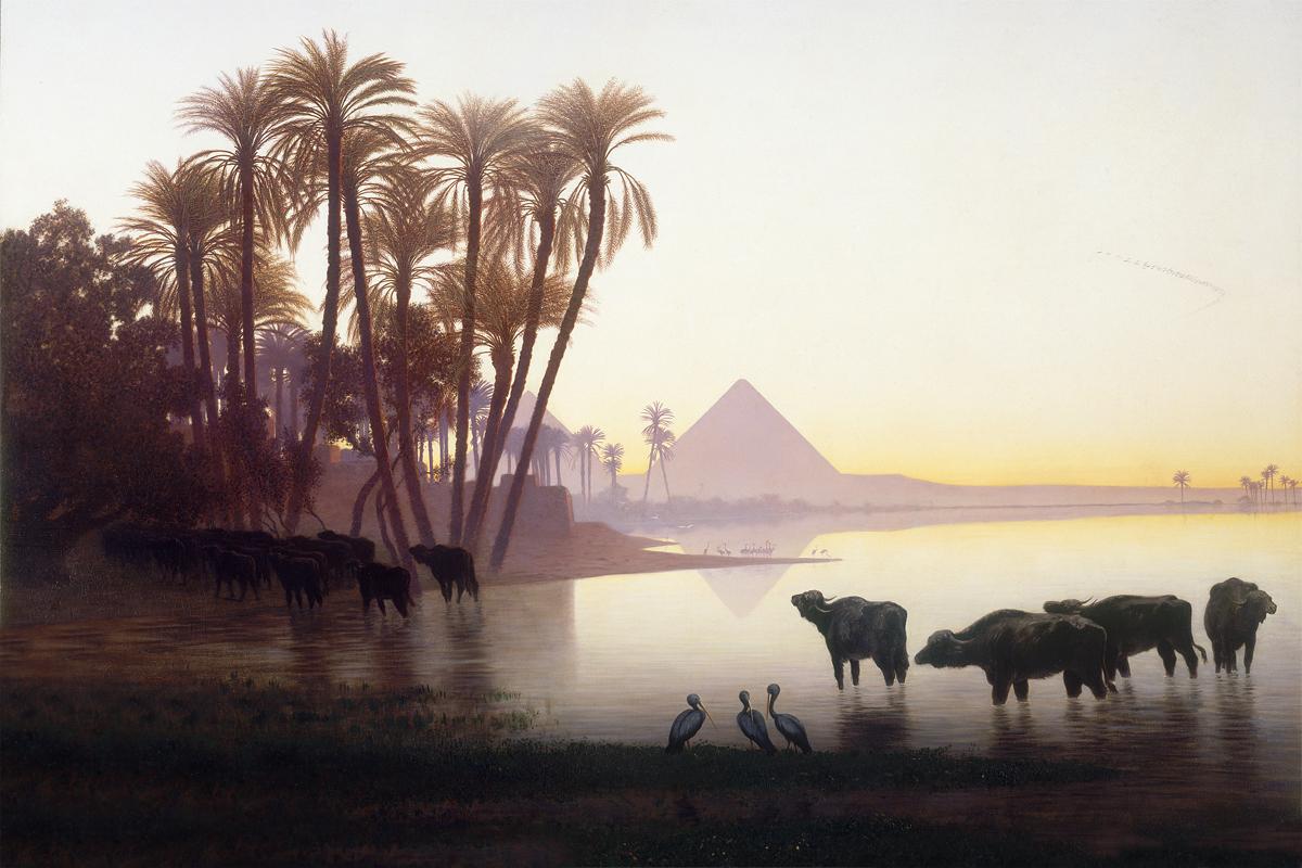 картинки пейзажа египта практически испытывал