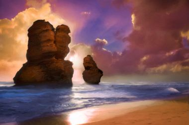 Two Apostles - Artwork from Printism